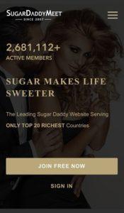 mobile app for sugardaddymeet
